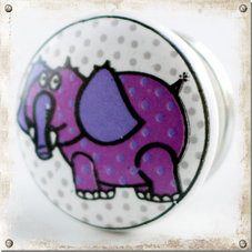 Barnknopp Elefant