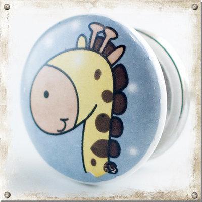 Barnknopp Giraff