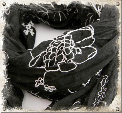 Svart sjal