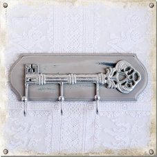 Hängare Nyckel, med 3 krokar