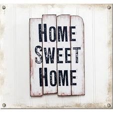 Träskylt - Home Sweet Home - utgående