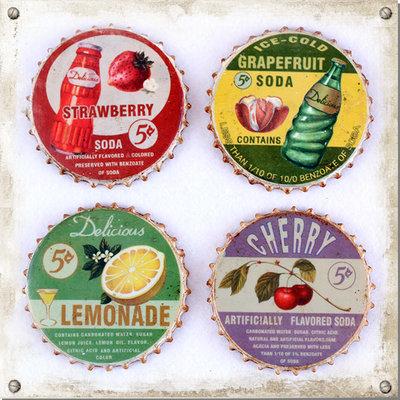 Glasunderlägg Lemonade