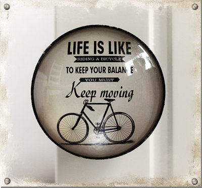Knopp - Life is like riding a bicycle