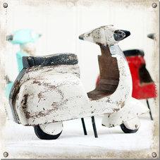 Scooter, vit
