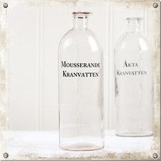 Flaska, Mousserande Kranvatten