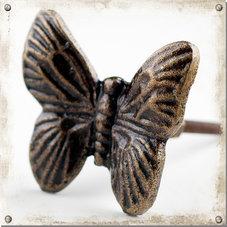 Metallknopp, stor fjäril
