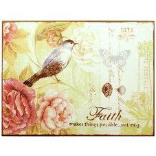 Plåtskylt, Faith - utgående